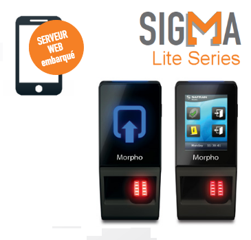 MorphoAccess®SIGMA LITE